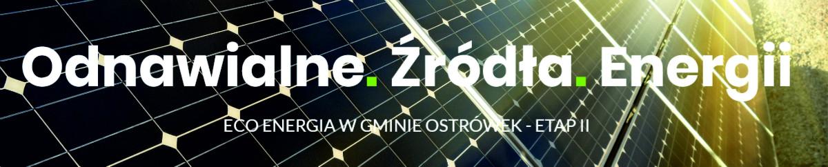 ECO Energia w Gminie Ostrówek II etap